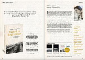 Pagina 2 met informatie over Dagboek uit Bergen-Belsen