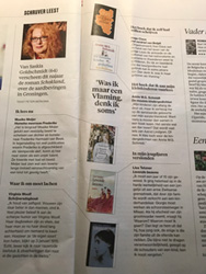 Saskia Goldschmidt in de rubriek Schrijver Leest (Algemeen Dagblad 15 december 2018)